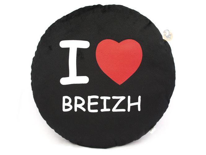 Coussin I love Breizh