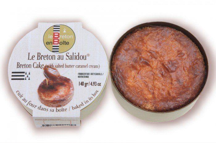Gateau Breton au caramel beurre salé