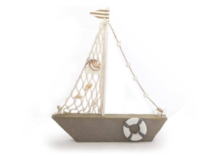 bateau de d coration pour la table 18x20 cm. Black Bedroom Furniture Sets. Home Design Ideas