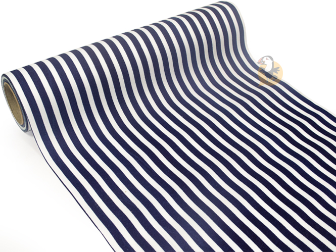 chemin-table-rayures-bleu-blanc