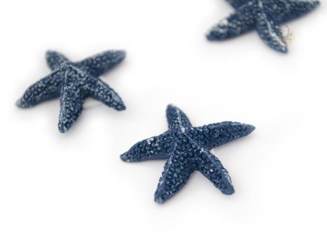 etoiles de mer deco bleues adh sives lot de 12. Black Bedroom Furniture Sets. Home Design Ideas