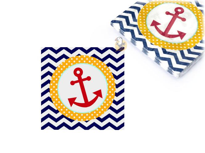 serviettes-papier-ancre-marine