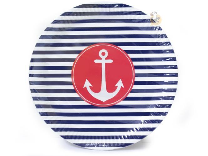assiettes-carton-ancre-marine