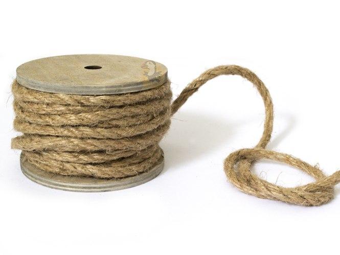 ⇒ Bobine de Corde marin   Cordelette naturelle décoration marine