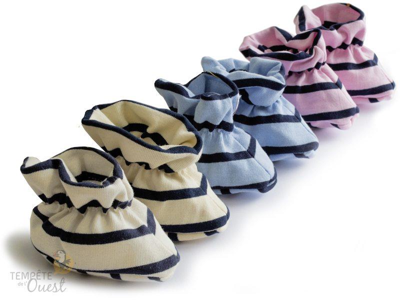chausson-bebe-mariniere