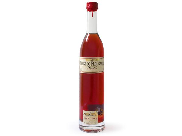 Liqueur de fraise de Plougastel artisanale