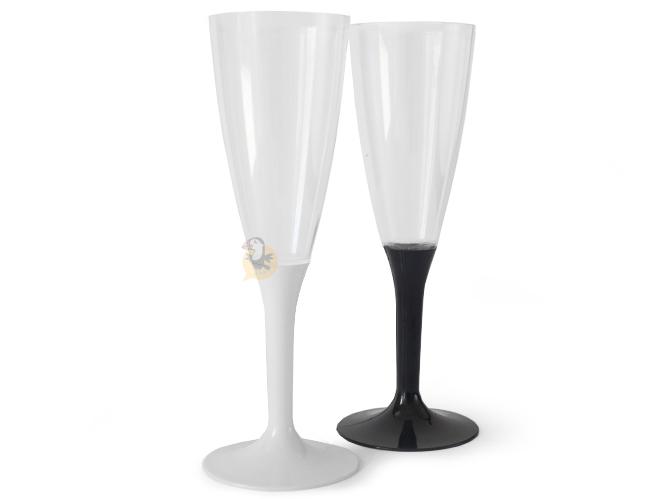 Vaisselle jetable bretonne assiettes gobelets pailles - Coupe champagne plastique ...