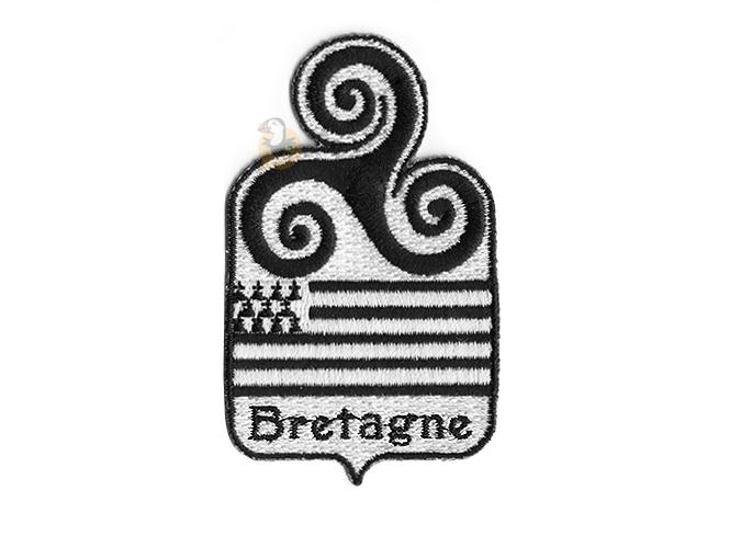 ⇒ Écusson à broder   Coudre blason Breton - Triskell   Bretagne 8102442c608