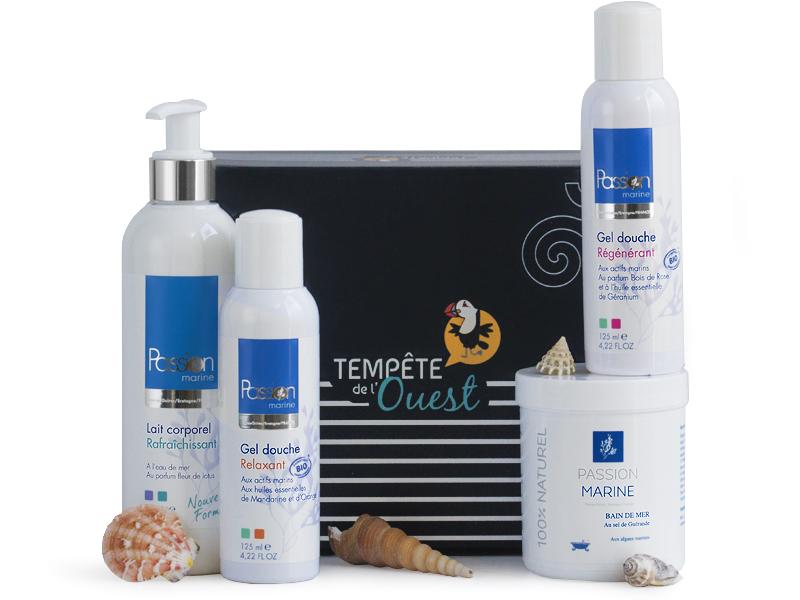 Coffret thalasso / cosmétiques aux actifs marins Passion Marine