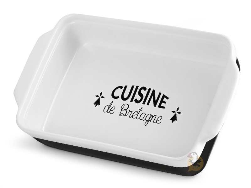 Plat gratin cuisine de Bretagne