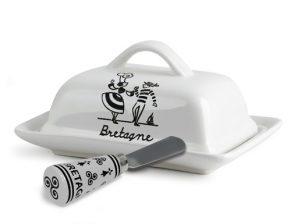 Beurriers bretons & couteaux à beurre