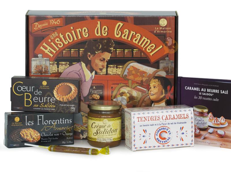 Coffret caramel breton